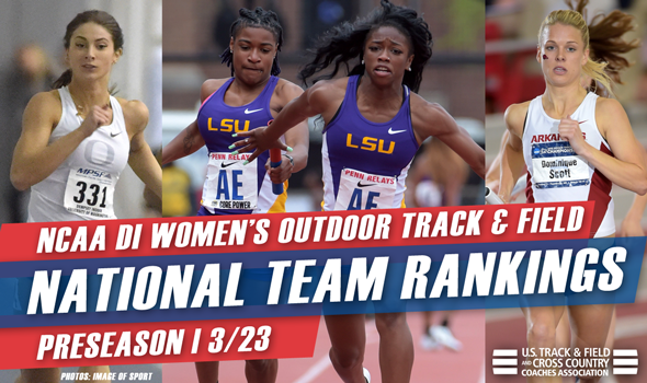 LSU Tabbed As Preseason Favorite In NCAA DI Women's Outdoor Rankings