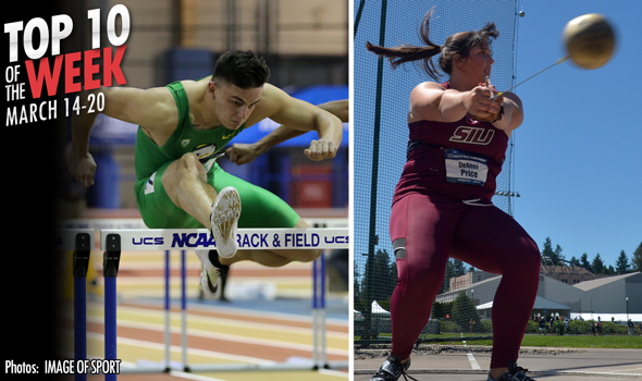 Best Collegiate Marks of the Weekend: March 14-20