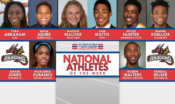 First National Athletes of the Week For 2016 Outdoor Season