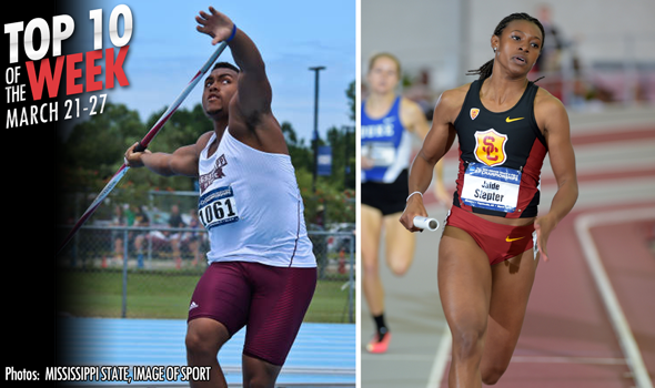 Best Collegiate Marks of the Weekend: March 21-27
