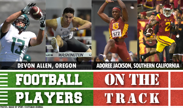Football Players on the Track: March 1 Edition