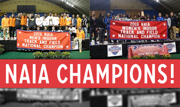 Indiana Tech Men & Wayland Baptist Women win NAIA Titles