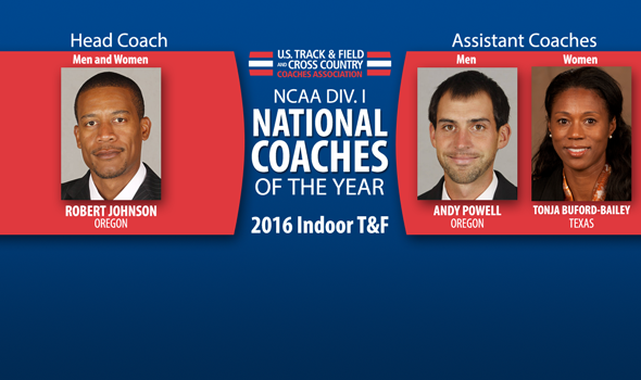 2016 NCAA DI Indoor National Coaches of the Year Announced