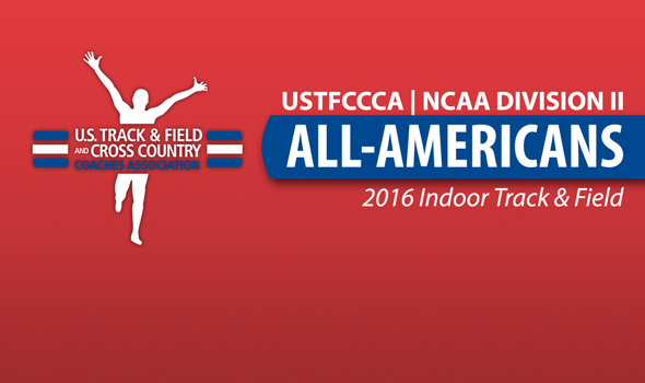 NCAA Division II Indoor All-Americans Announced