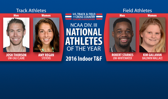 2016 NCAA DIII Indoor National Athletes of the Year Announced
