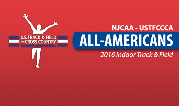 2016 NJCAA All-Americans – Indoor Track & Field