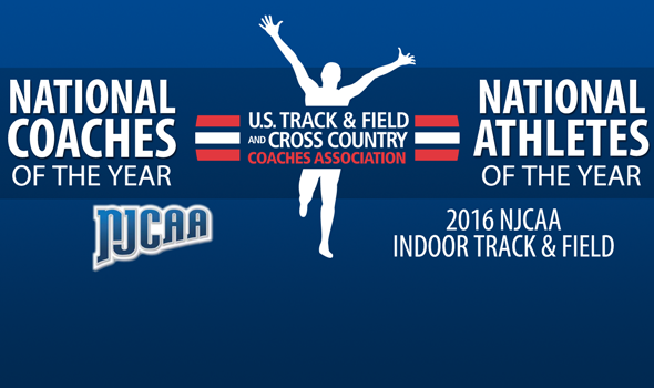 2016 NJCAA Indoor National Awards Announced