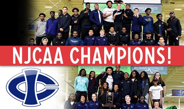 Iowa Central Sweeps NJCAA Indoor Team Titles