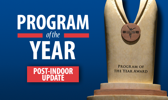 Program of the Year Standings Update – Post Indoor
