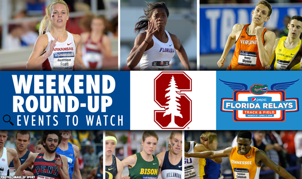 Weekend Preview: Stanford Invite & Florida Relays