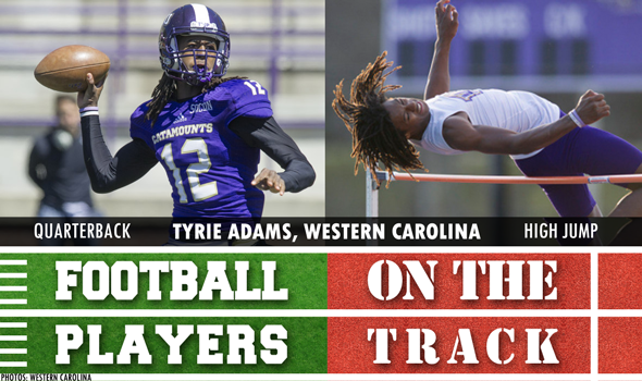 College Football Players on the Track: April 19