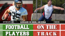 College Football Players on the Track: April 27