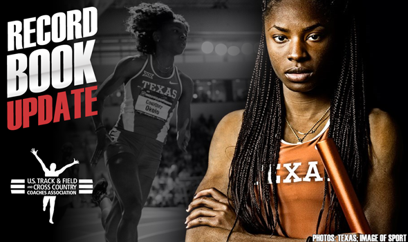 Record Book Update: Historic Weekend From Okolo, Vaulters, Card & More