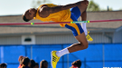 Texas A&M-Kingsville Senior Jeron Robinson Keeps Reaching New Heights