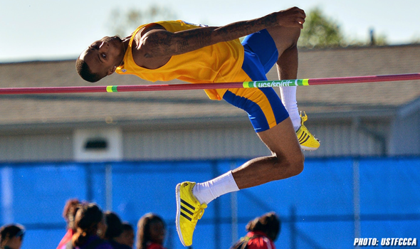 Texas A&M-Kingsville Senior Jeron Robinson Reaching New Heights