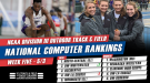 NCAA DIII Rankings Still Shifting As Postseason Approaches
