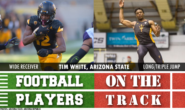 College Football Players on the Track: May 4
