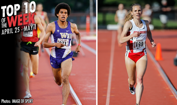 Best Collegiate Marks of the Weekend: April 18 – May 1