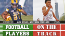 College Football Players on the Track: May 17