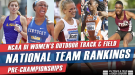 Arkansas Favored In Pre-Eugene Version Of NCAA DI Women's Rankings
