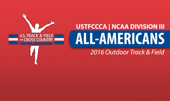 NCAA Division III Outdoor All-Americans Announced