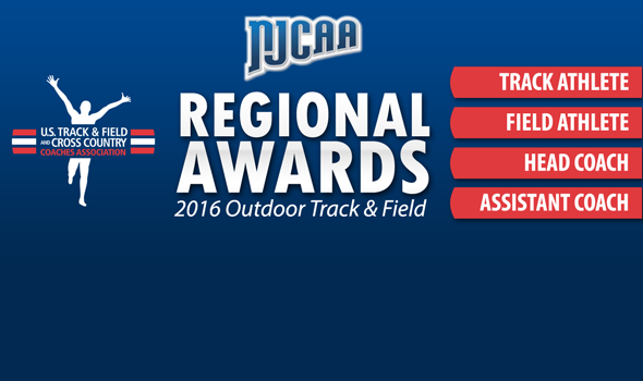 Regional Awards Announced for NJCAA DI Outdoor Track & Field