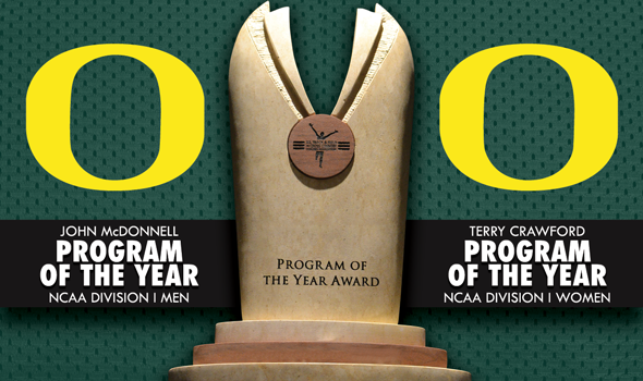 Oregon Sweeps NCAA Division I Program of the Year Awards