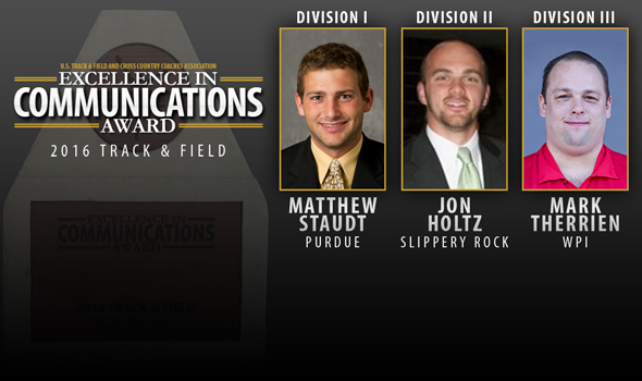 2016 Excellence In Communication Award Winners – Track & Field