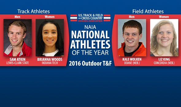National Athletes of the Year Announced For NAIA Outdoor T&F