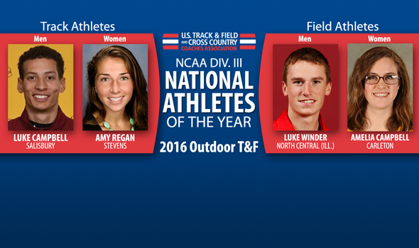 National Athletes of the Year Announced For NCAA Division III Outdoor T&F