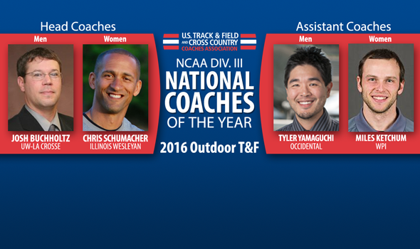 National Coaches of the Year Announced For NCAA Division III Outdoor T&F