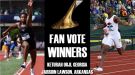 Lawson & Orji Win 2016 Fan Vote For The Bowerman Award