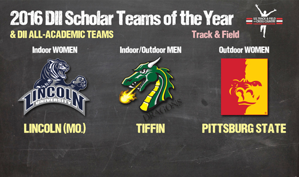 DII Track & Field Scholar Teams of the Year & All-Academic Teams Announced