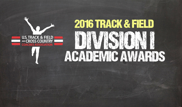 2016 All-Academic Honors Announced for NCAA Division I Track & Field