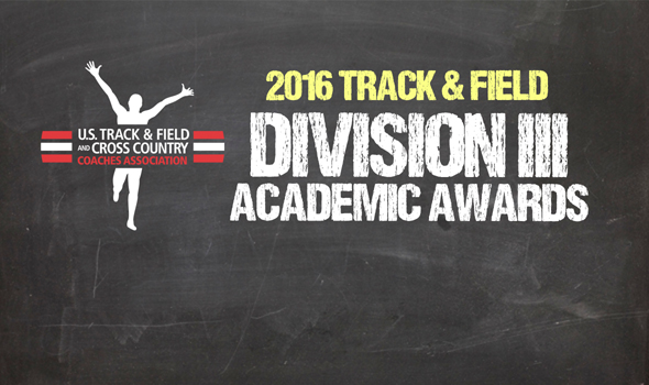 2016 All-Academic Honors Announced for NCAA Division III Track & Field