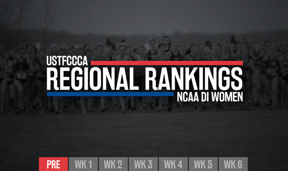 NCAA DI Women's Preseason Regional Rankings Released