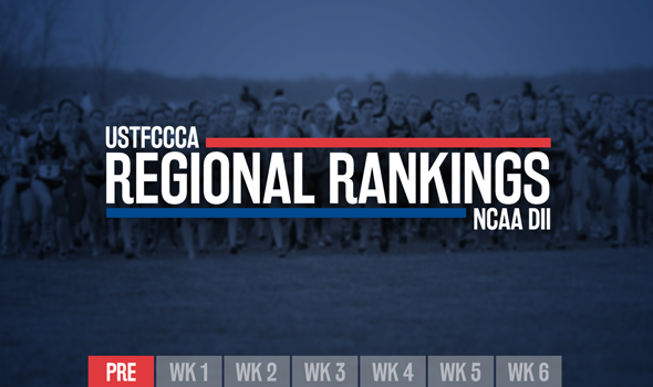 NCAA DII Preseason Regional Rankings Unveiled