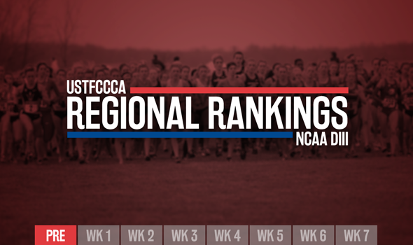 NCAA DIII Preseason Regional Rankings Released