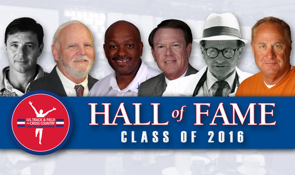 USTFCCCA Coaches Hall of Fame Class of 2016 Announced