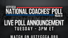 WATCH: Preseason NCAA DI National Coaches' Polls Announcement (3pm ET)