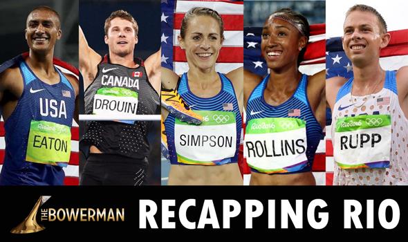 Former Bowerman Award Winners Shine In Rio