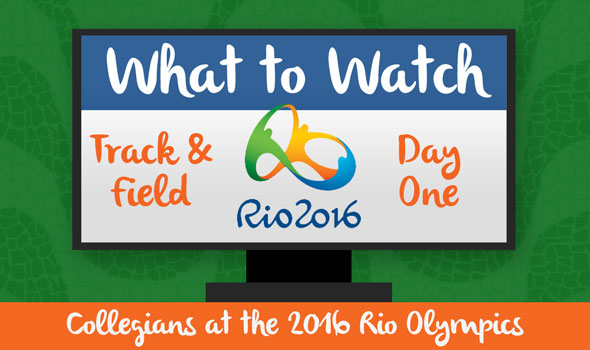 What to Watch For: Collegians in Day One of Rio T&F