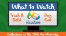 What to Watch: Collegians in Day Four of #Rio2016 T&F