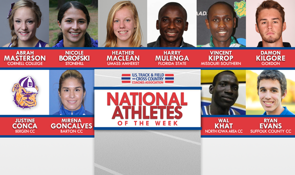 First National Athletes Of The Week For 2016 XC Season