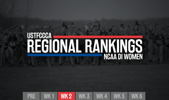Second NCAA DI Women's Regional Rankings Of Regular Season Revealed