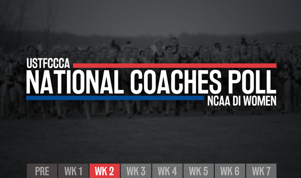 NCAA DI Women's XC Poll Continues To Evolve In Week 2