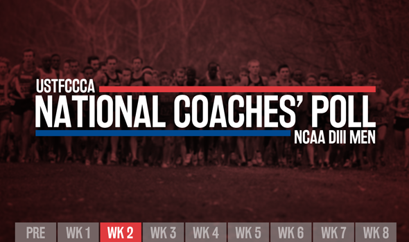 Big Jumps The Focus Of Newest Men's NCAA DIII XC Coaches' Poll