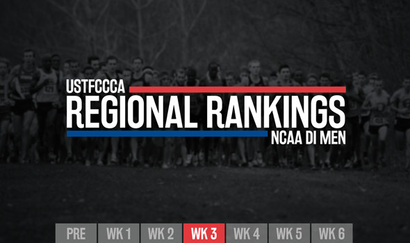 Panorama Farms & Griak Shake Up New DI Men's Regional Rankings