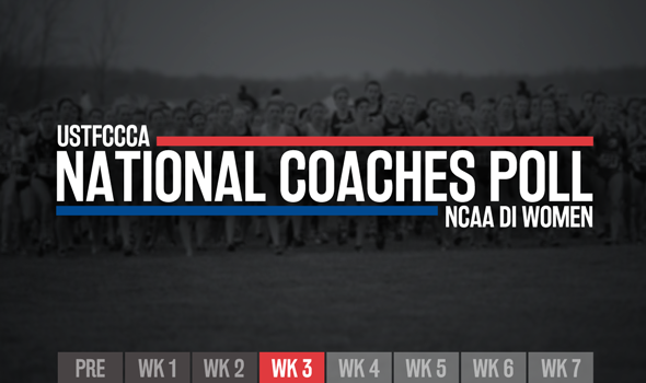 There's A New No. 1 Team In The NCAA DI Women's XC Poll
