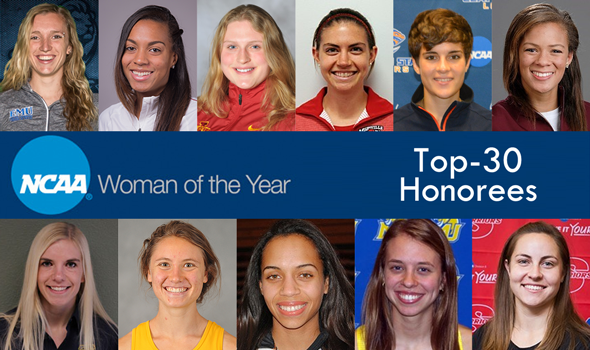 T&F Athletes Among NCAA Woman of the Year Top-30 Honorees